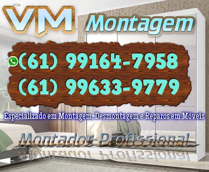 VM Montagem e Desmontagem de Móveis – GO -/(61) 99164-7958 WhatsApp
